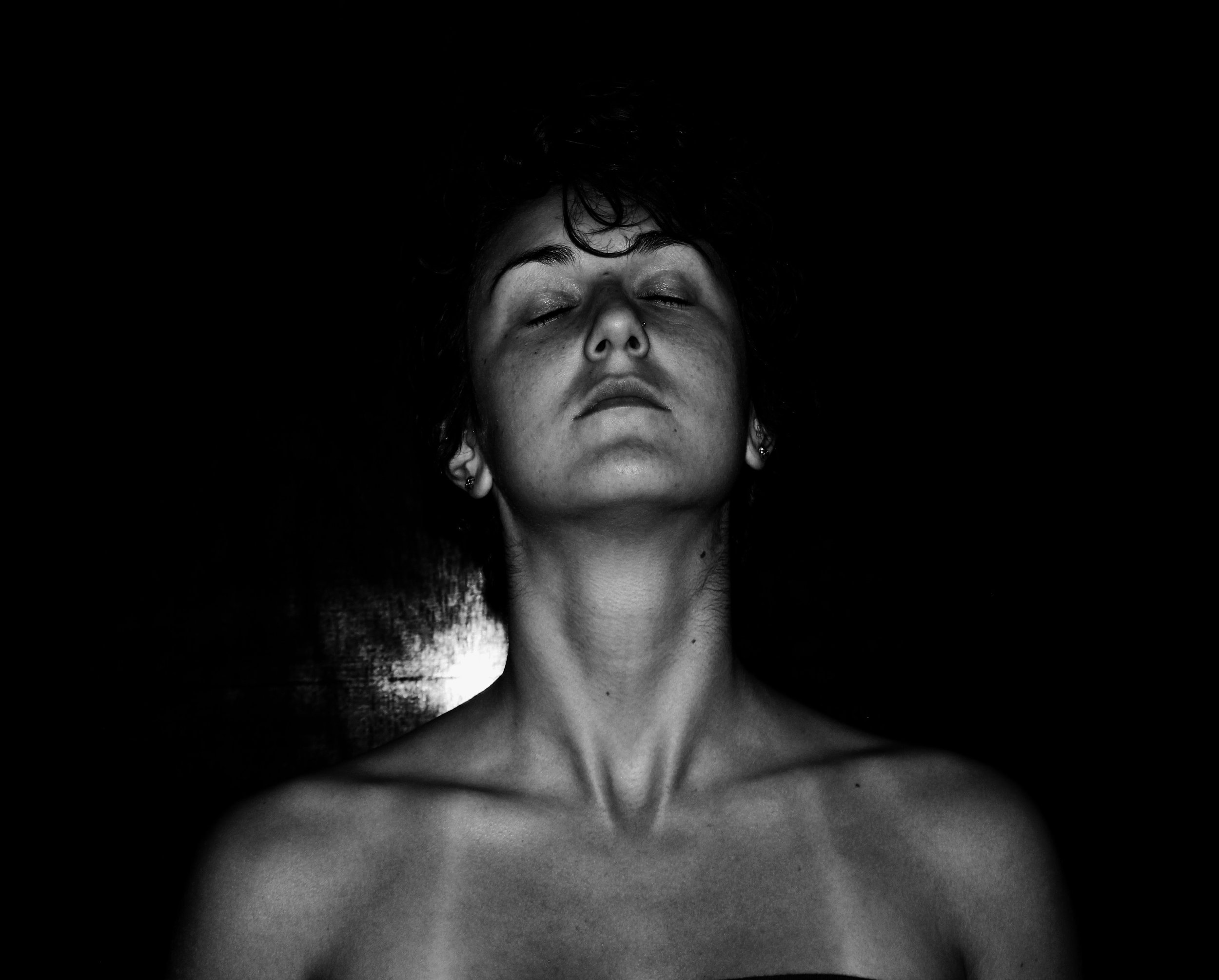 In the absence of light, one can still see her dulled soul shine  In the presence of light, her soul is no match and she fears she may have no spark left at all  ~Comparative Lifelessness