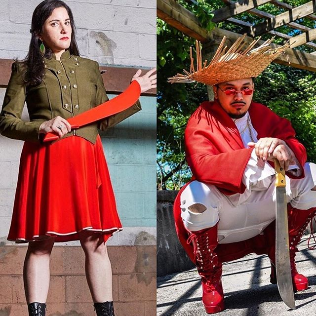 ¿Están listxs? 🔥🔥🔥 Por ahí viene ¡El Machete! See you Wednesday @dromnyc 🚪 @7 💥@8 Don't be late! 😘🌺⚔️ . . . #elmachete #boricuasbelike #musicaprotesta #indiemusic #elmachetealmachote #boricua #machete #diaspora #boricuadiaspora