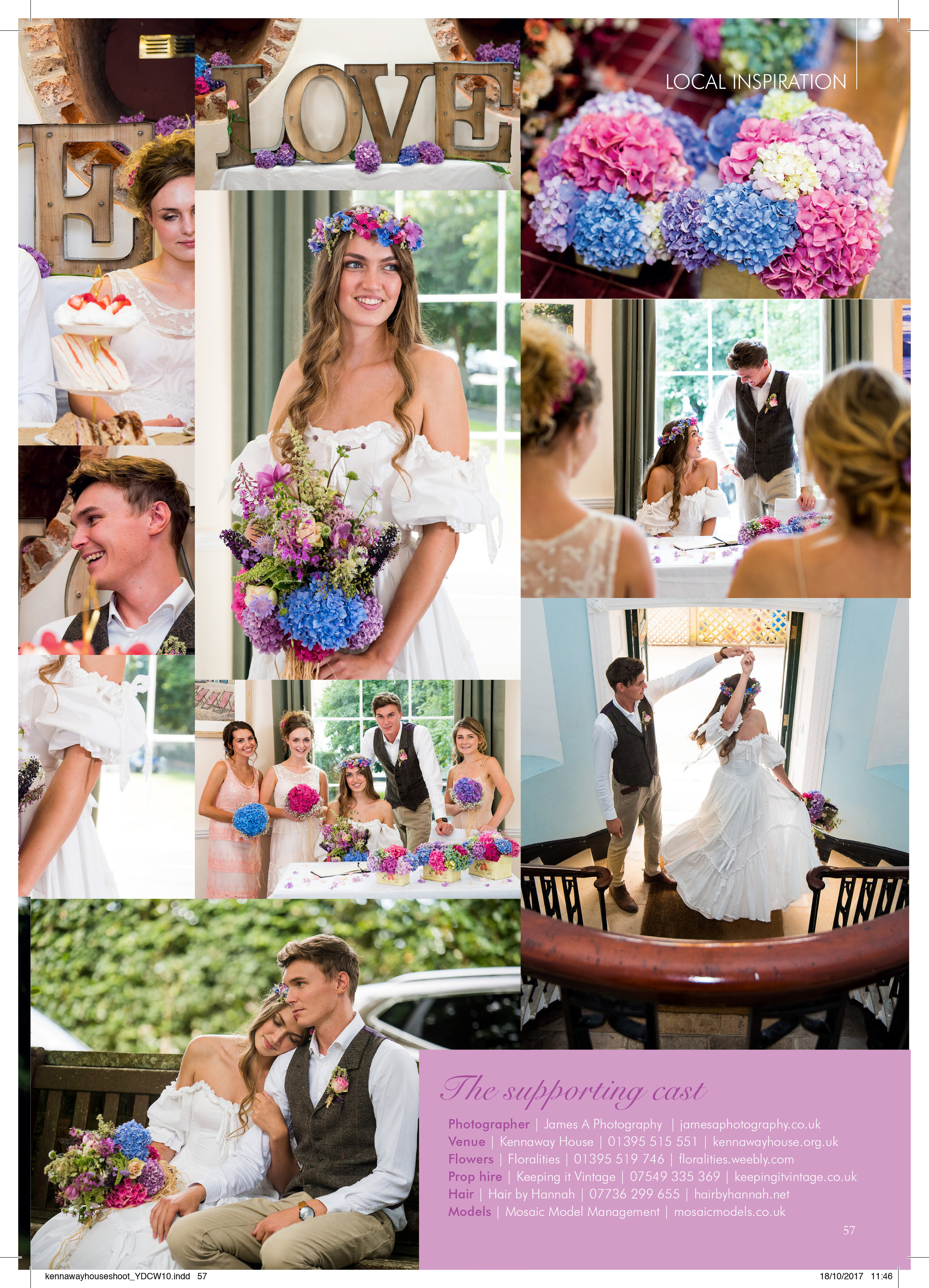 James A Photography Your Devon and Cornwall Wedding magazine