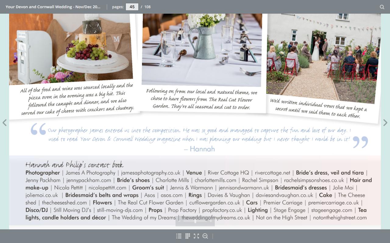 James A Wedding Photography Your Devon and Cornwall Wedding Magazine
