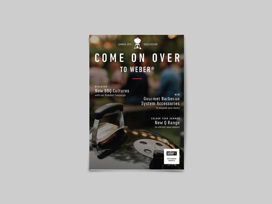Weber Grills - Steven Haygarth | Freelance Graphic Designer | Ilkley