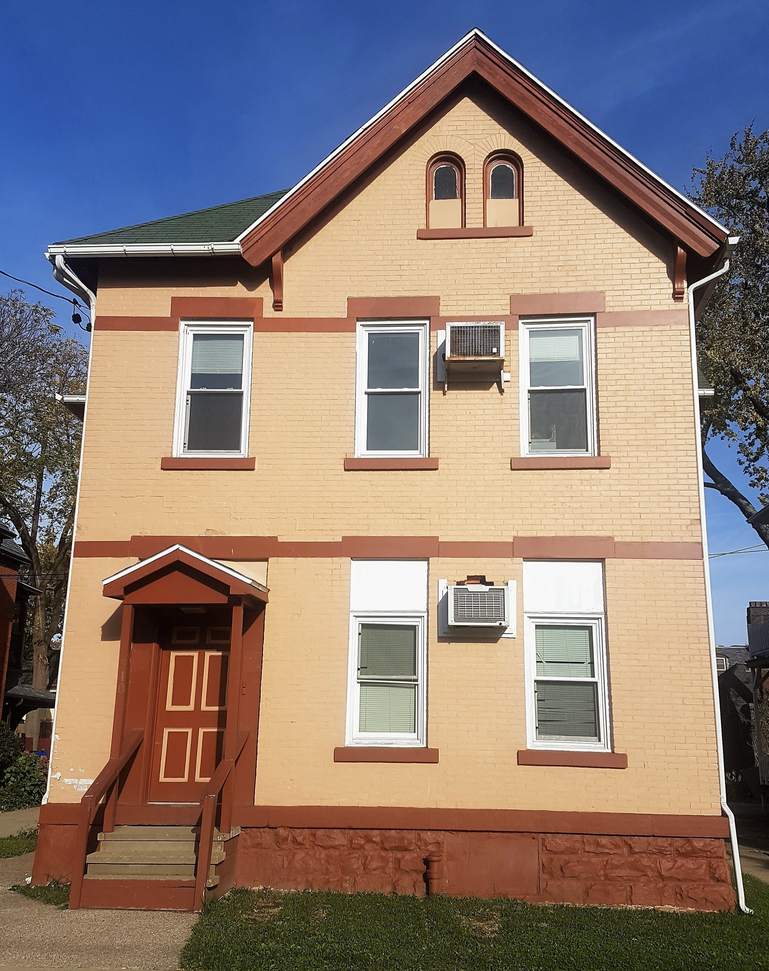 Honors House - 310 W 7th St. Erie PA 16501Newly remodeled four unit building one block from library. Energy efficient home. Also includes on site laundry and off street parking.
