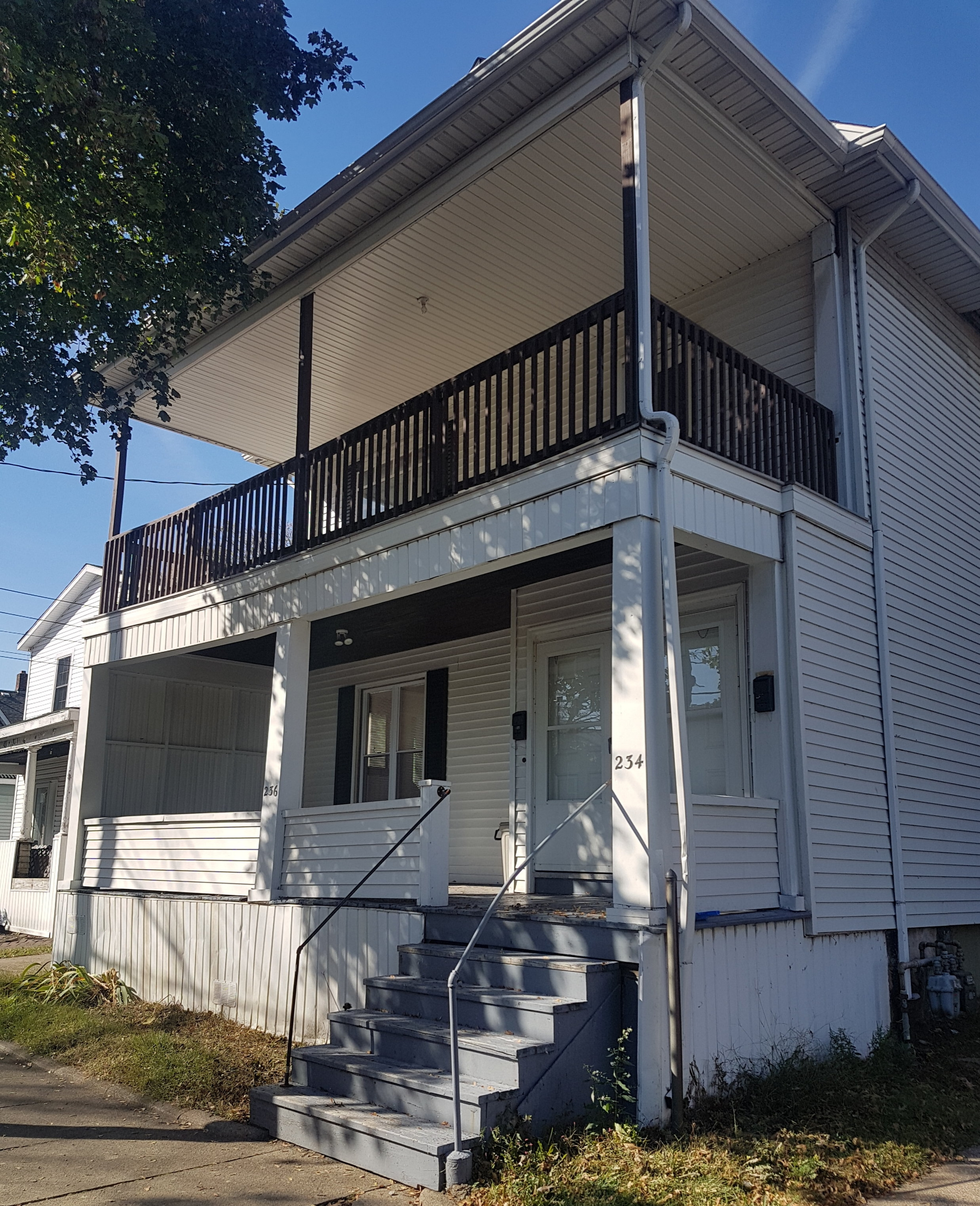 234W. 3rd Street - 234 West 3rd St. Erie Pa 16507This building offers two, three-bedroom apartments with large living room, dining room and kitchen in each unit. Off street parking and large accessible basement. One block walk to Gannon rec center.