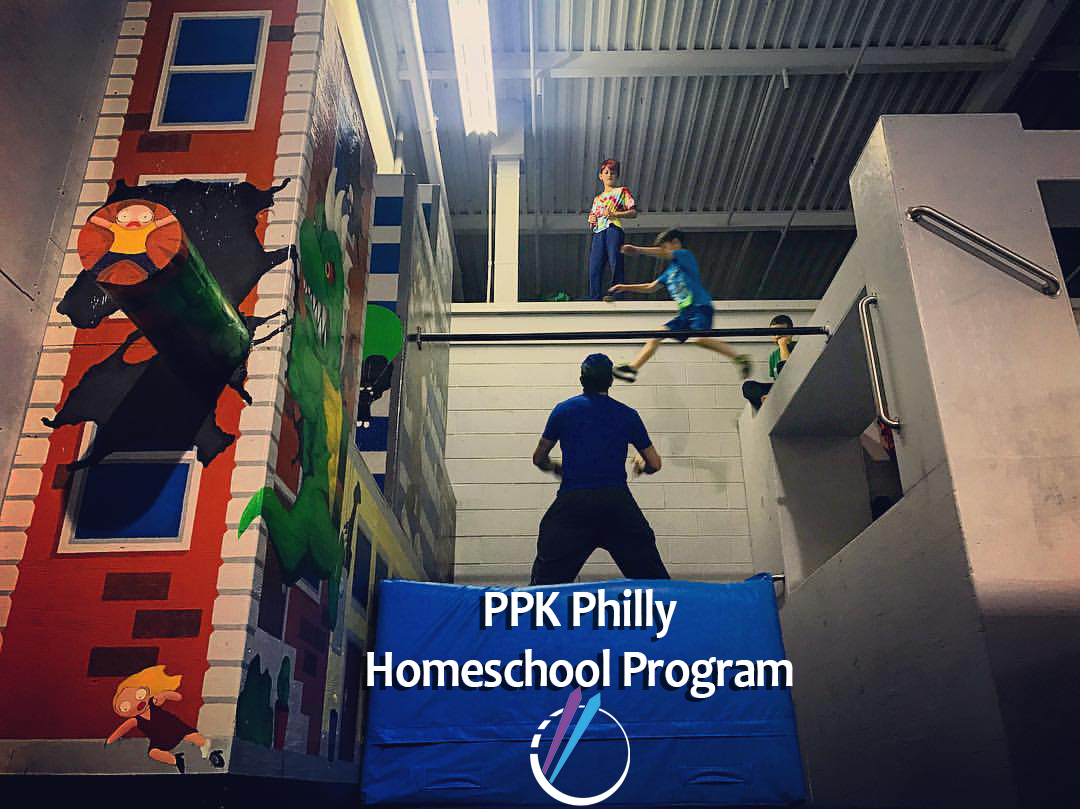 Homeschool Program - Are you a homeschooler? Are you between the ages of 5 and 16? Come check out our homeschool 2 hour block every Monday and Friday. Learning parkour is a creative skill builder like no other! Class starts at 1:00pm and we are family friendly so if you have any siblings between the ages of 3-6 we have a play time block in the gym at 2:30-3pm for the little ones. See you there!