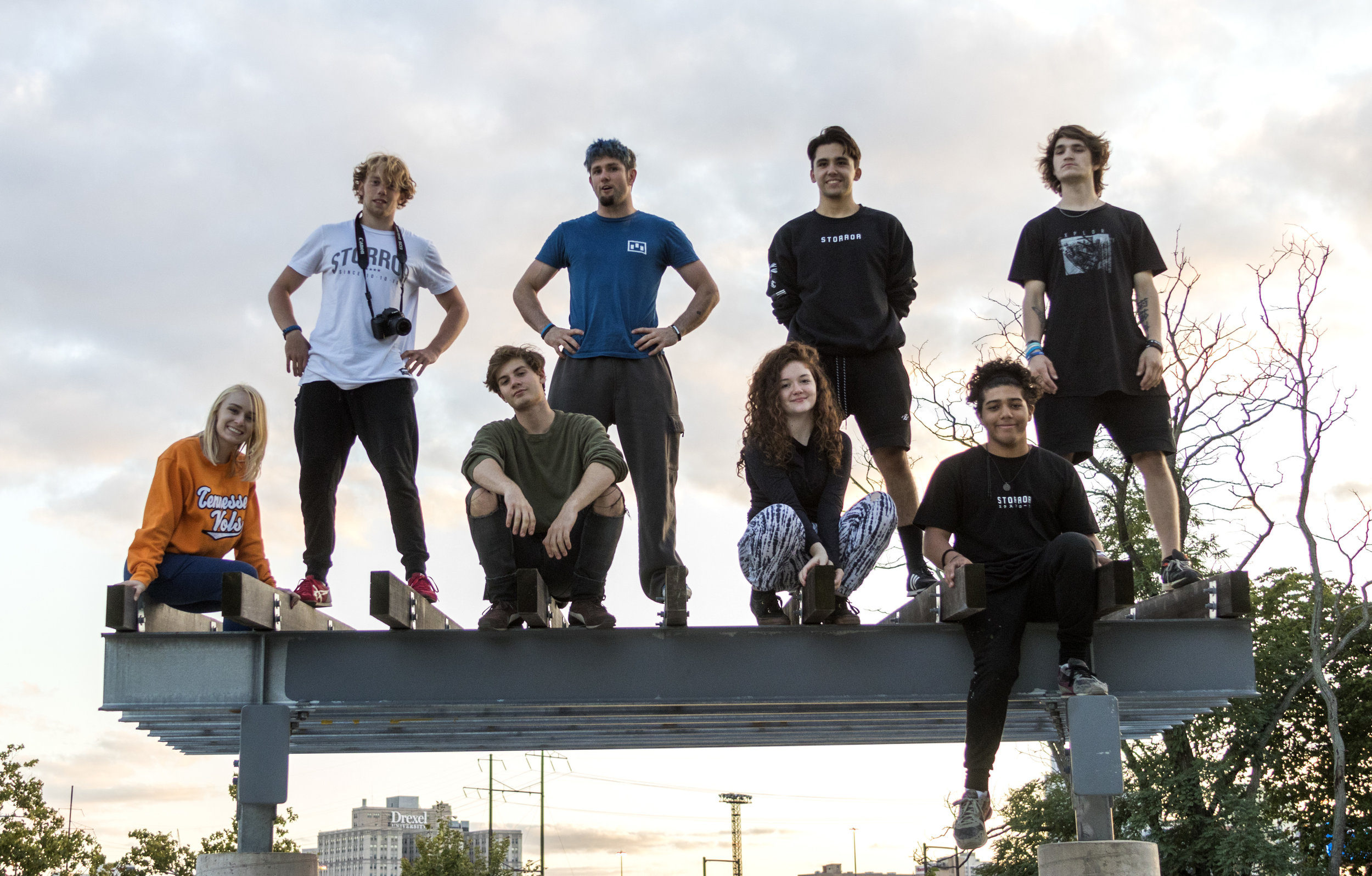 The Staff Photo on the thing that must be Climbed