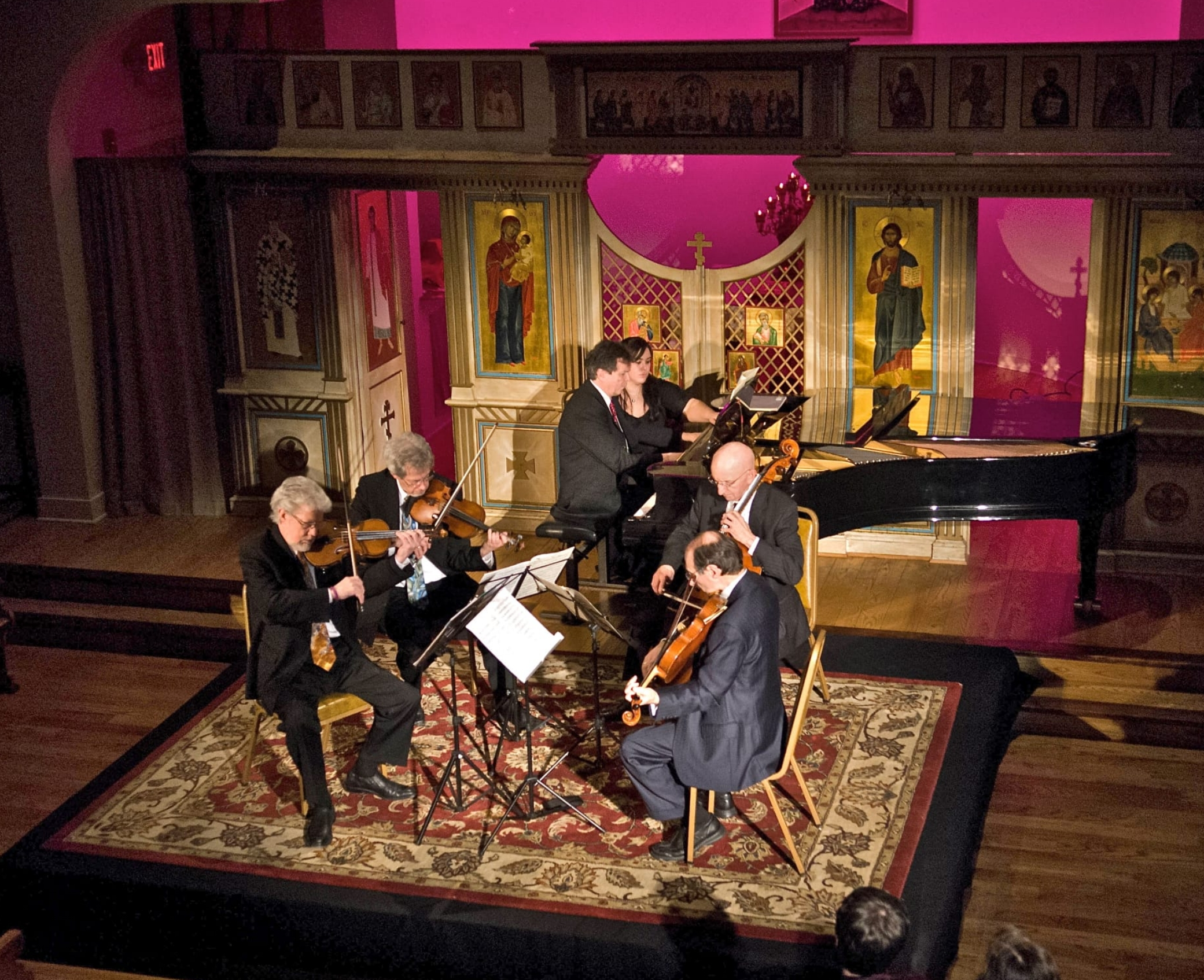 Eric Lewis and the Prometheus Piano Quartet