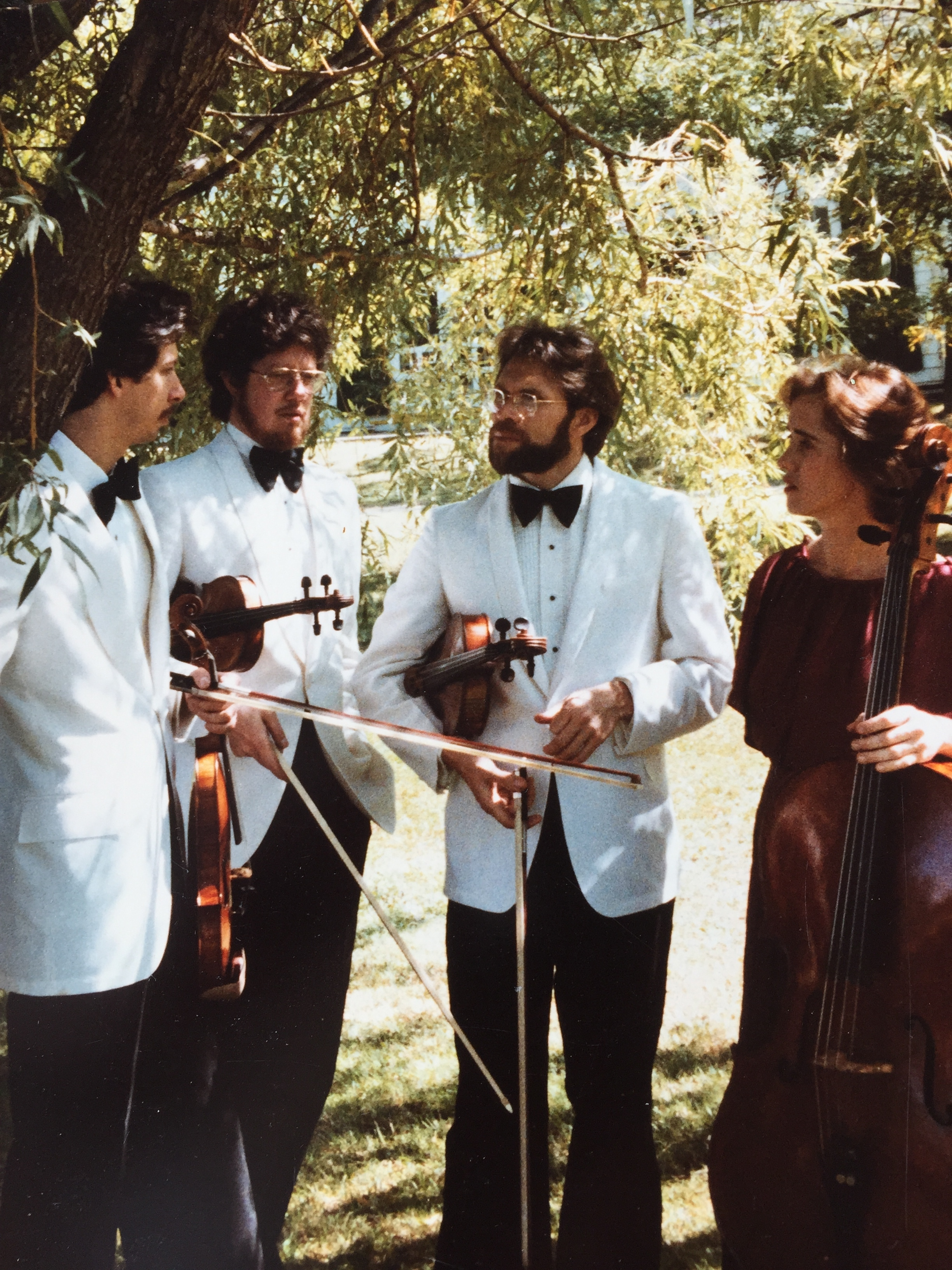 The Manhattan String Quartet at Music Mountain, Falls Village, CT