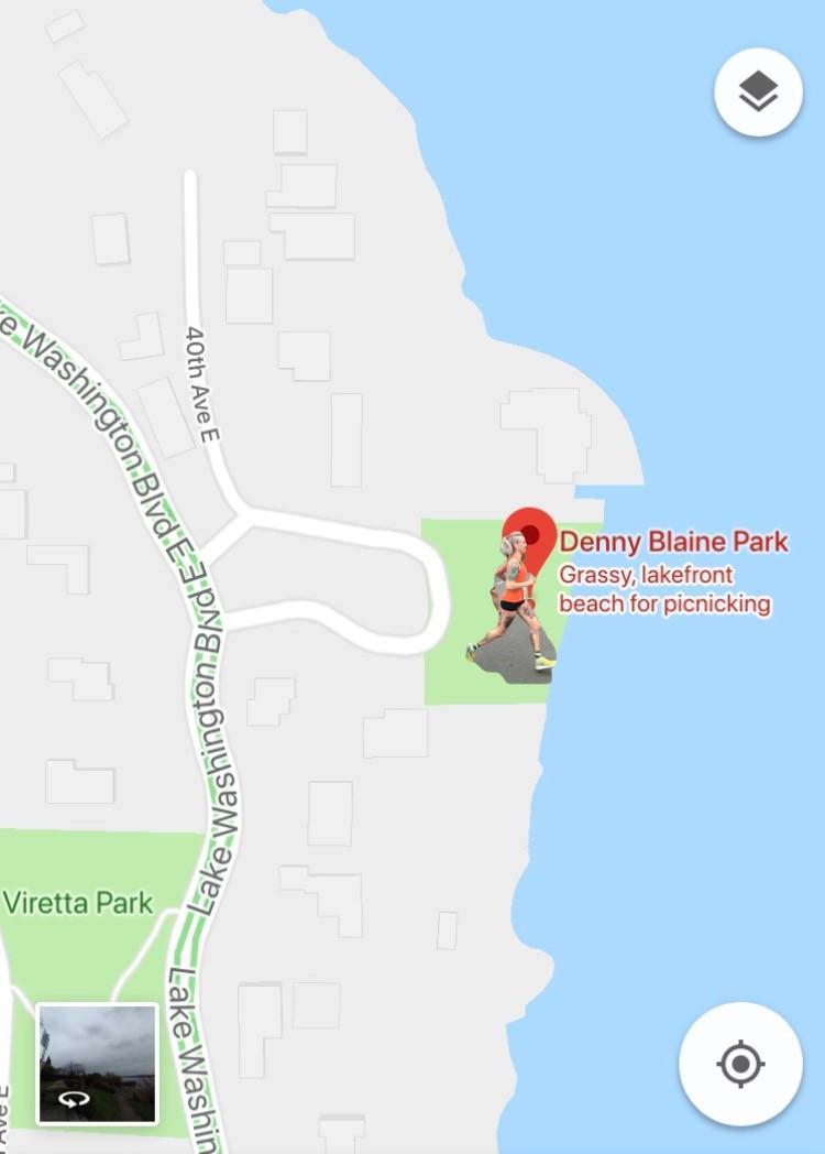 Denny/Blaine Map