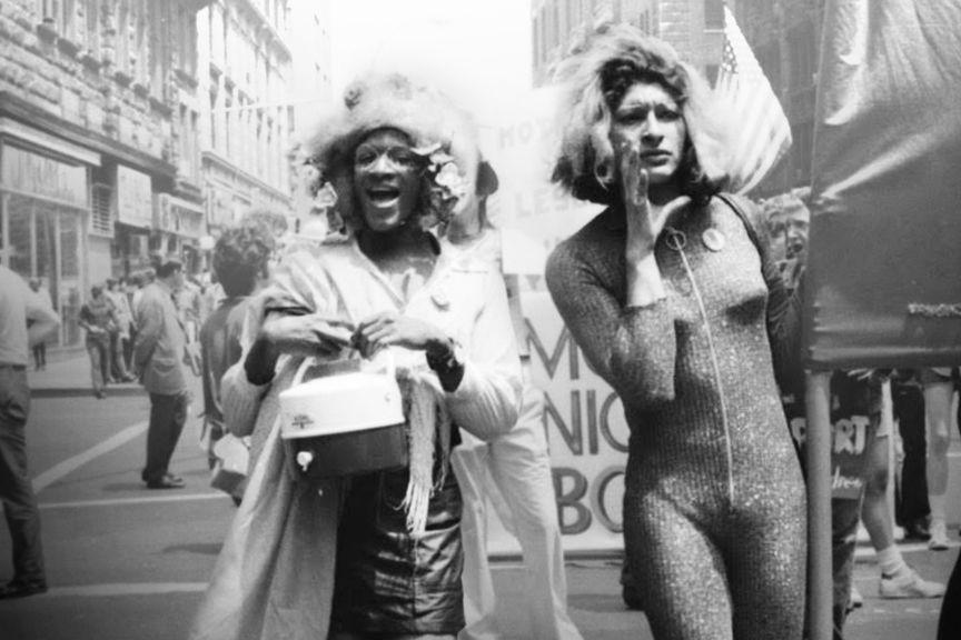 Marsha P. Johnson (left)