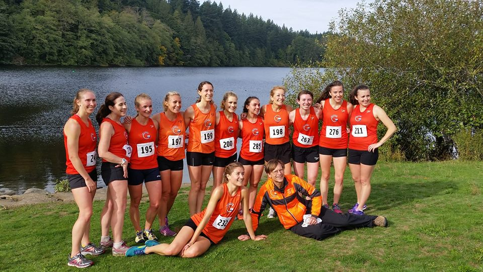 Club Northwest Women Cross Country Team Picture 2018