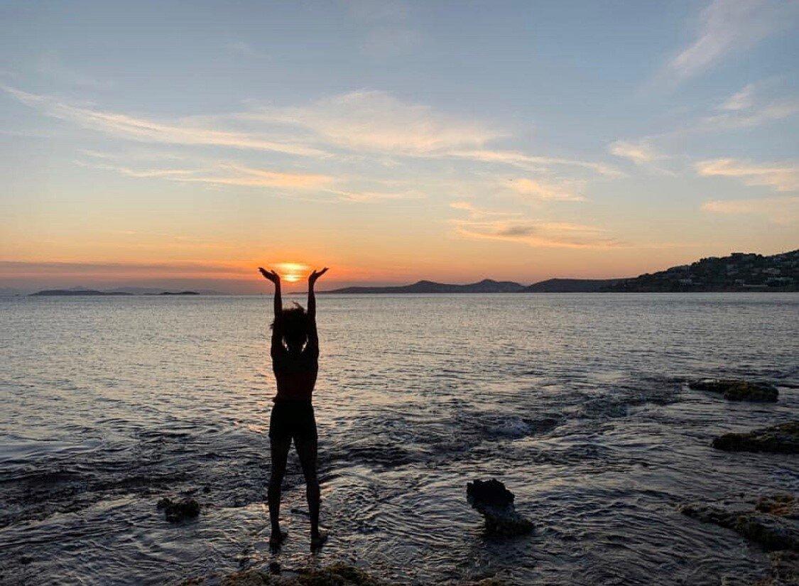 Tori Franklin in Greece