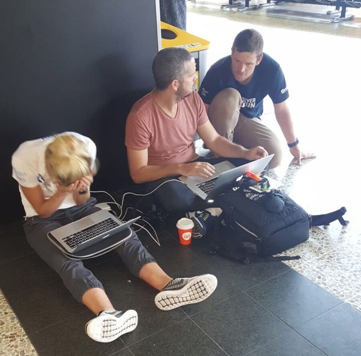 Melbourne Airport. Struggling to upload a video.