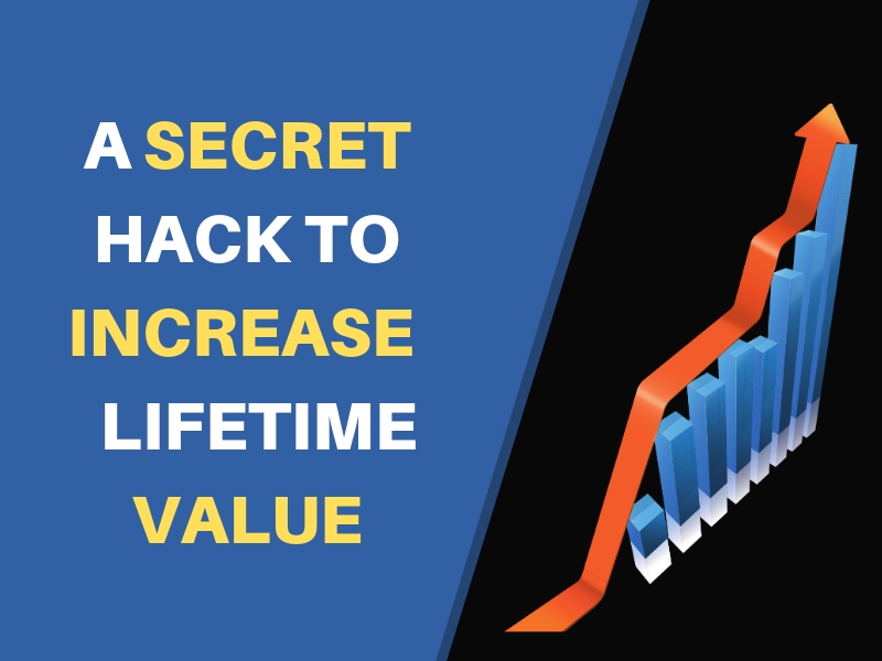 """A little-known secret to skyrocket Customer Lifetime Value. - """"The company that can pay the most to acquire a customer always wins."""""""