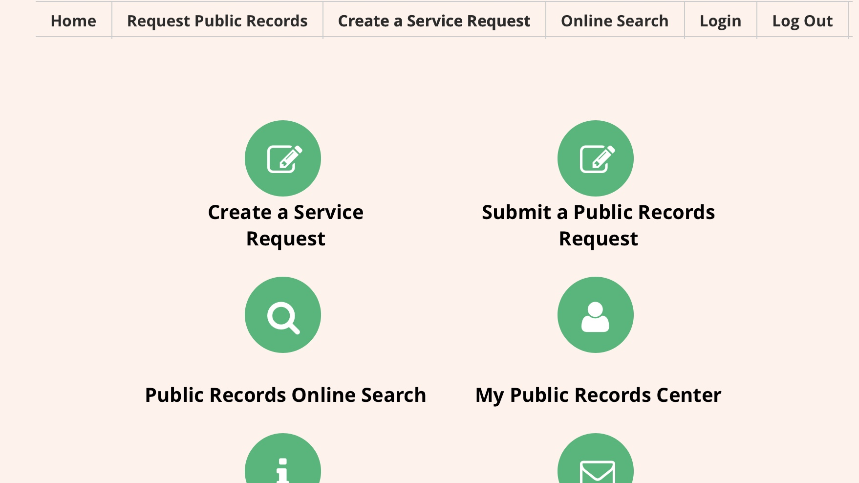 Likewise, the City of Coral Gables makes its public records available  here