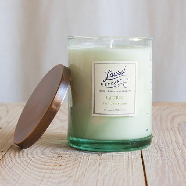 Copy of Laurel Mercantile Candle