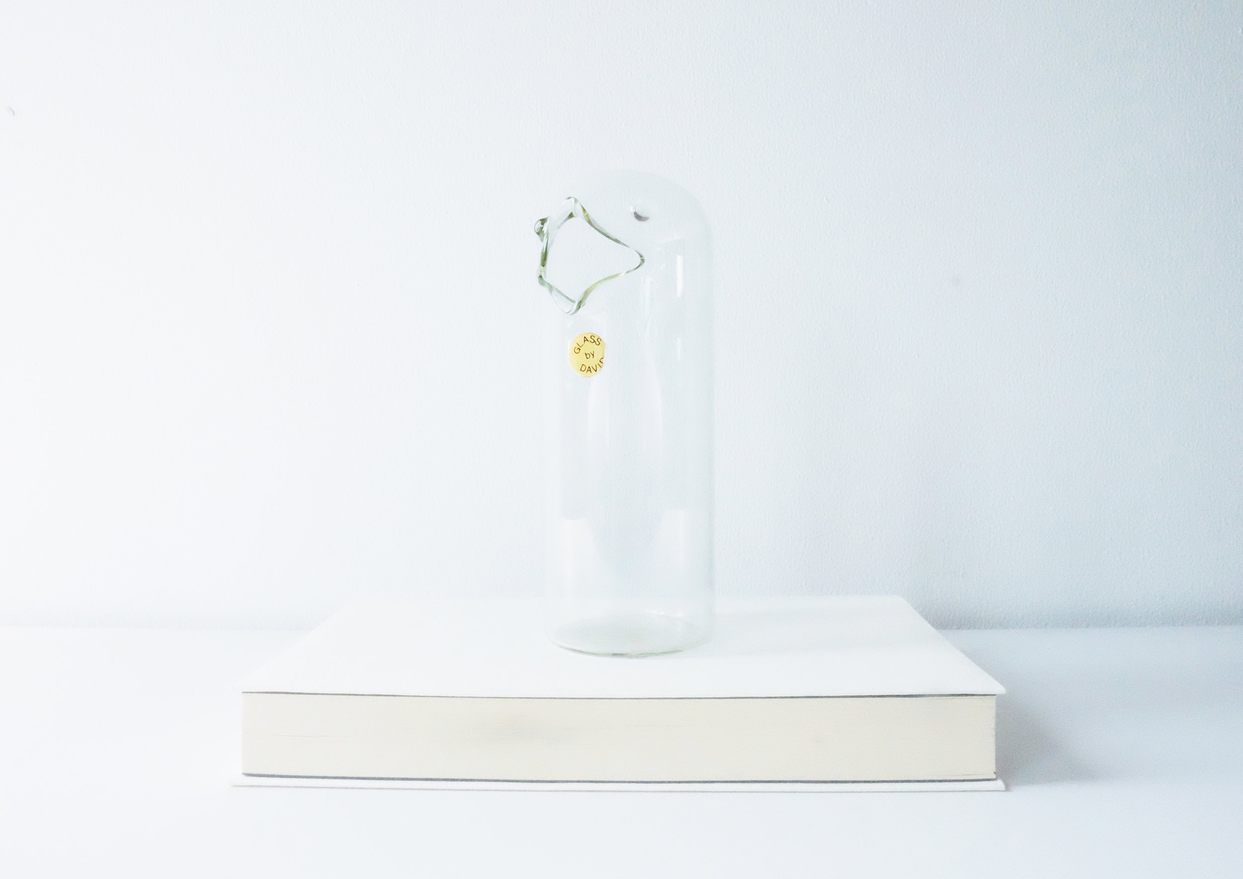Peanuts Bottle | £15 | found at Sunbury, UK  This is a Danish glass bottle for placing peanuts. Peanuts come out from his beak.