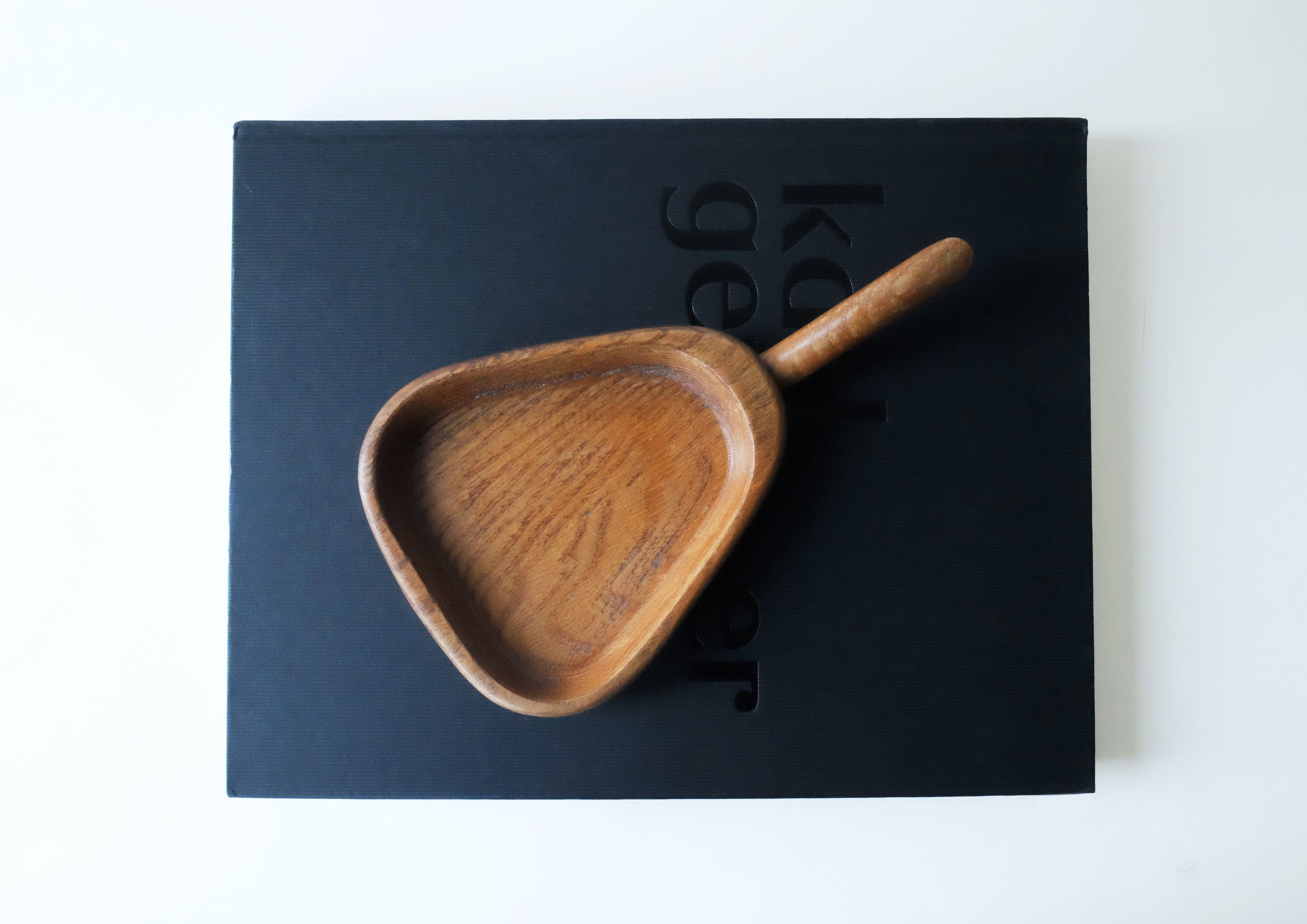 Wooden Plate |  £ 5  | London, UK  It looks like dustpan. Could be used for serving nibbles.