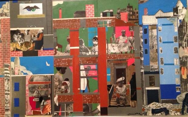 Romare Beraten, The block, 1972 (picture - IM, Paris 2016, exhibition in Quay Branly)