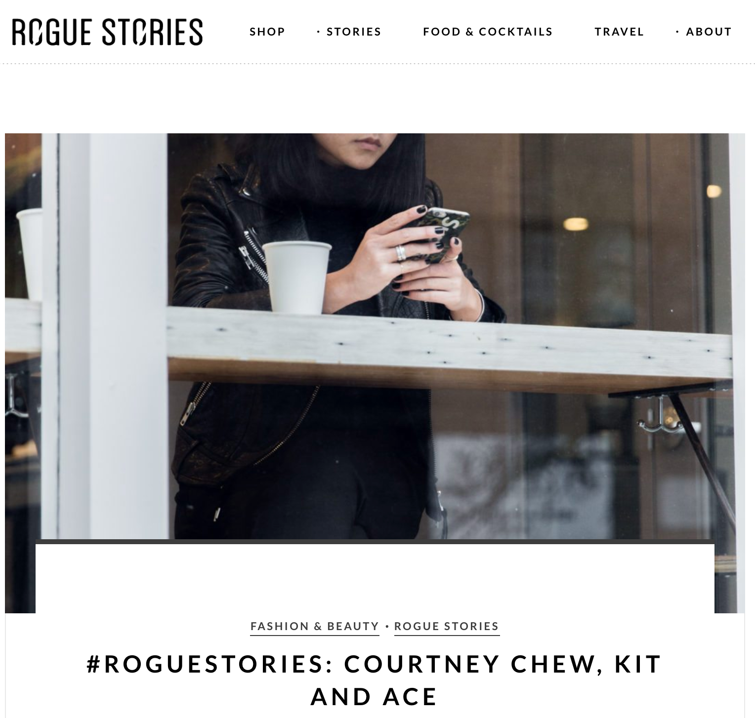 January 2016 - Rogue Stories
