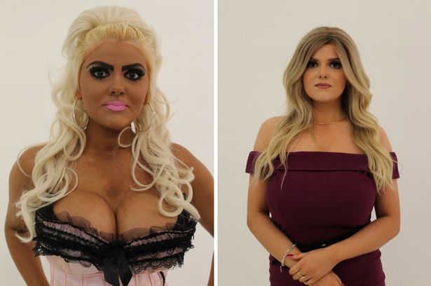 """from Barbie to Real Housewife: Jade, contestant on episode 1 of """"100% Hotter"""""""
