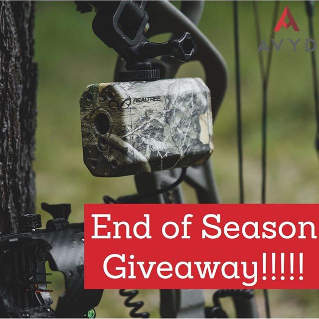 As the season comes to a close we thought we would spice it up with a giveaway. We are giving away 2 Realtree Edge AVYDS!  Here is how to enter: FOLLOW @getavyd and TAG three friends between now and Monday! The winners will be randomly drawn on Tuesday. Good luck! #getavyd #realtree #bowhunter4life #bowhunters #bowhuntingwhitetails #bowhuntordie