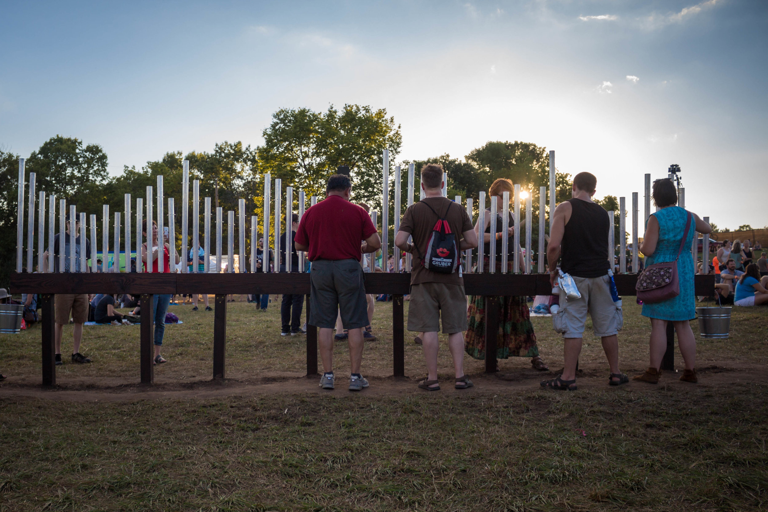 MUSICAL FENCE -