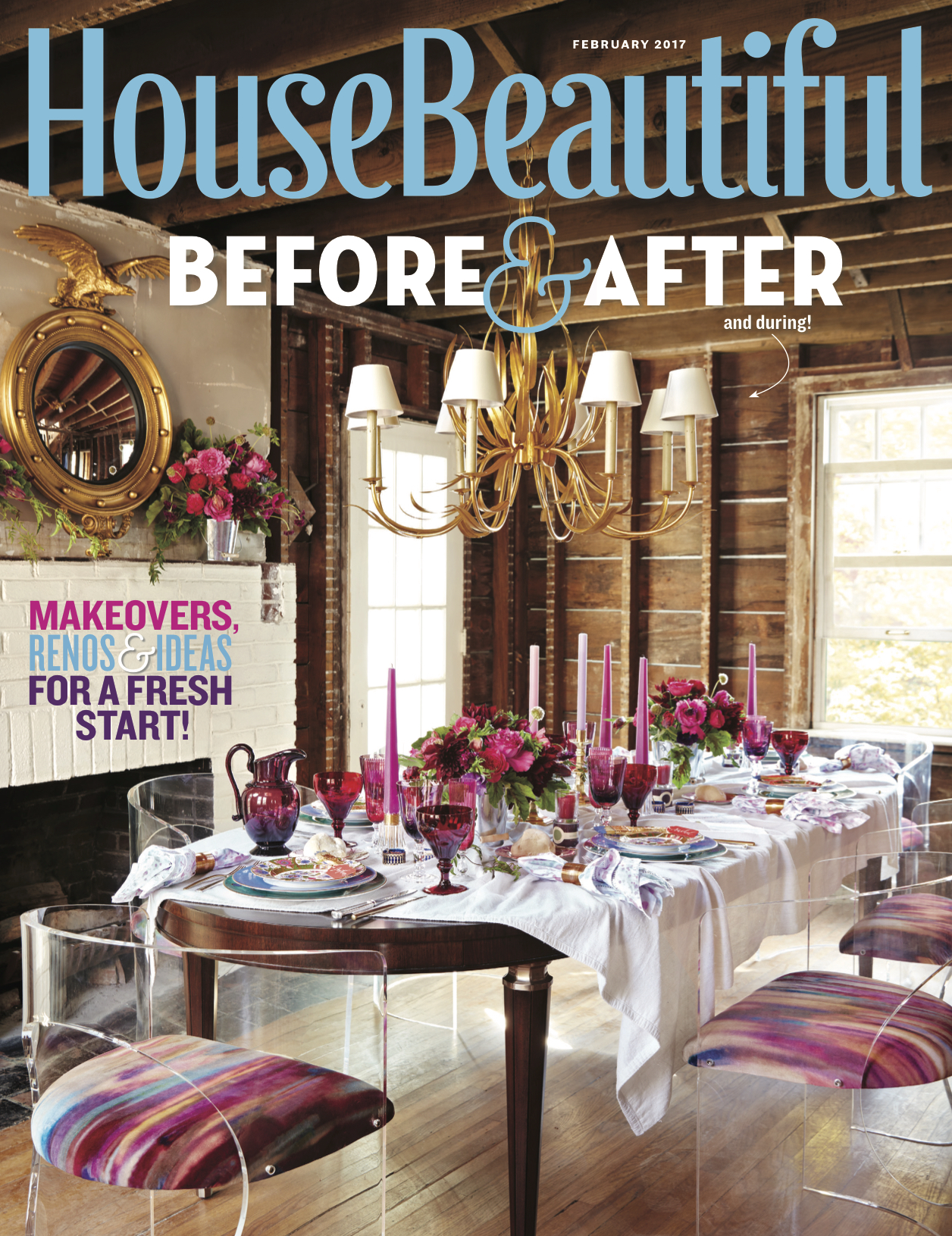 House Beautiful, Cover - Project Manager and Assistant Stylist to lead designer, Eddie Ross