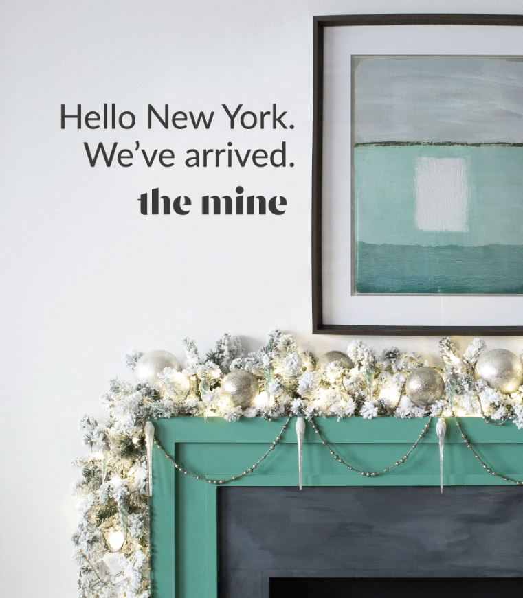 The Mine Pop up at Lowe's in NYC - Lead Designer & Stylist