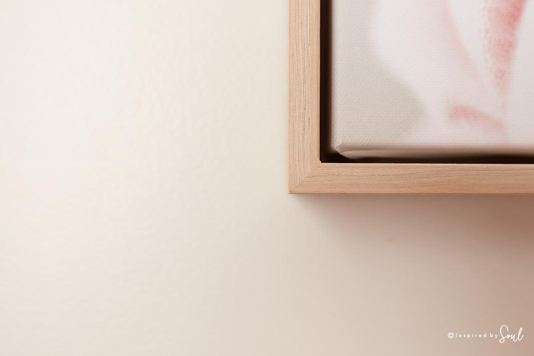 raw oak timber frame