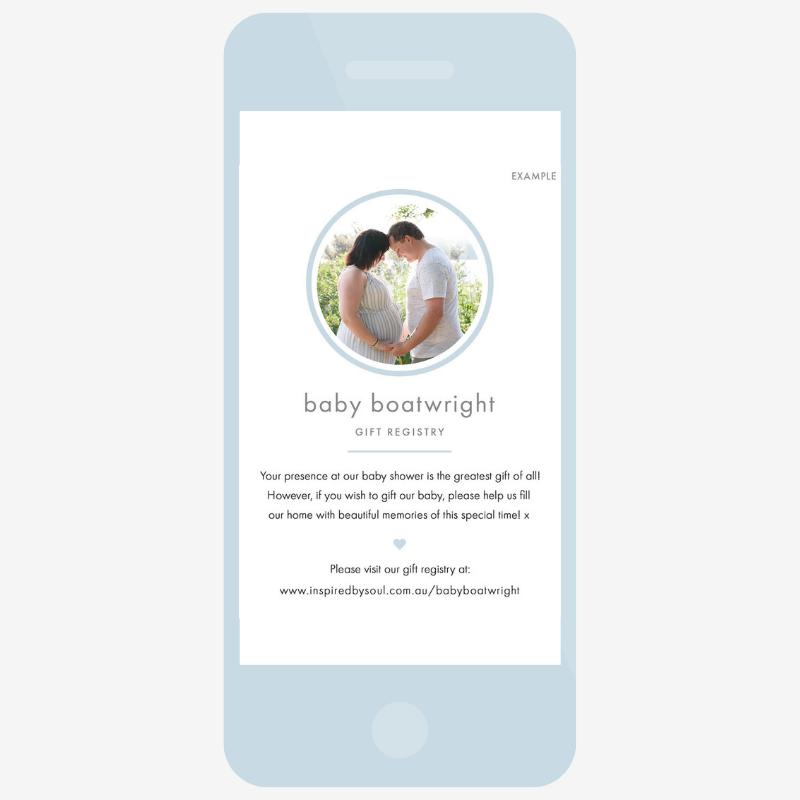 baby gift registry hobart tasmania