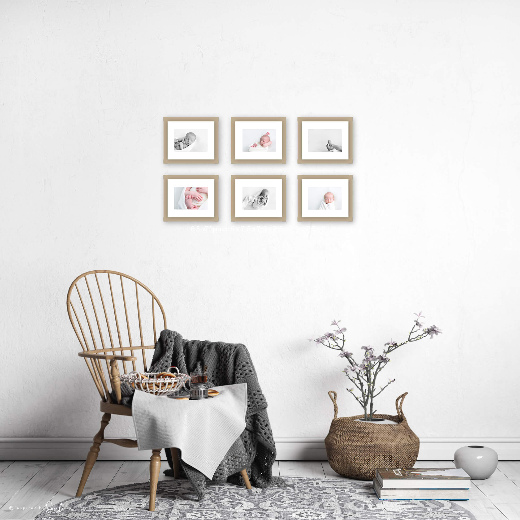 hobart newborn photography baby art wall frames