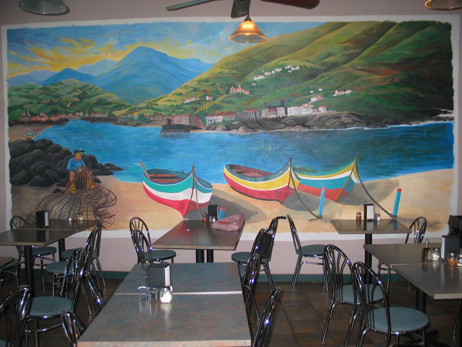 Portabella Restaurant Mural