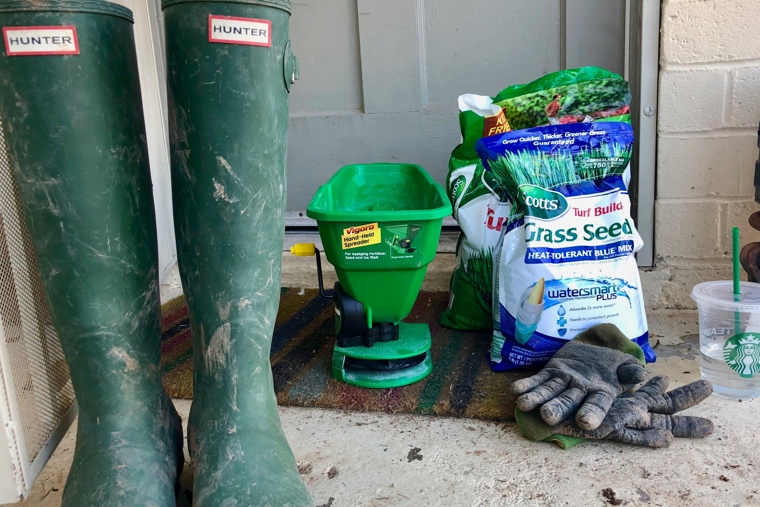 Planting the Seeds Scotts Turf Builder Blog