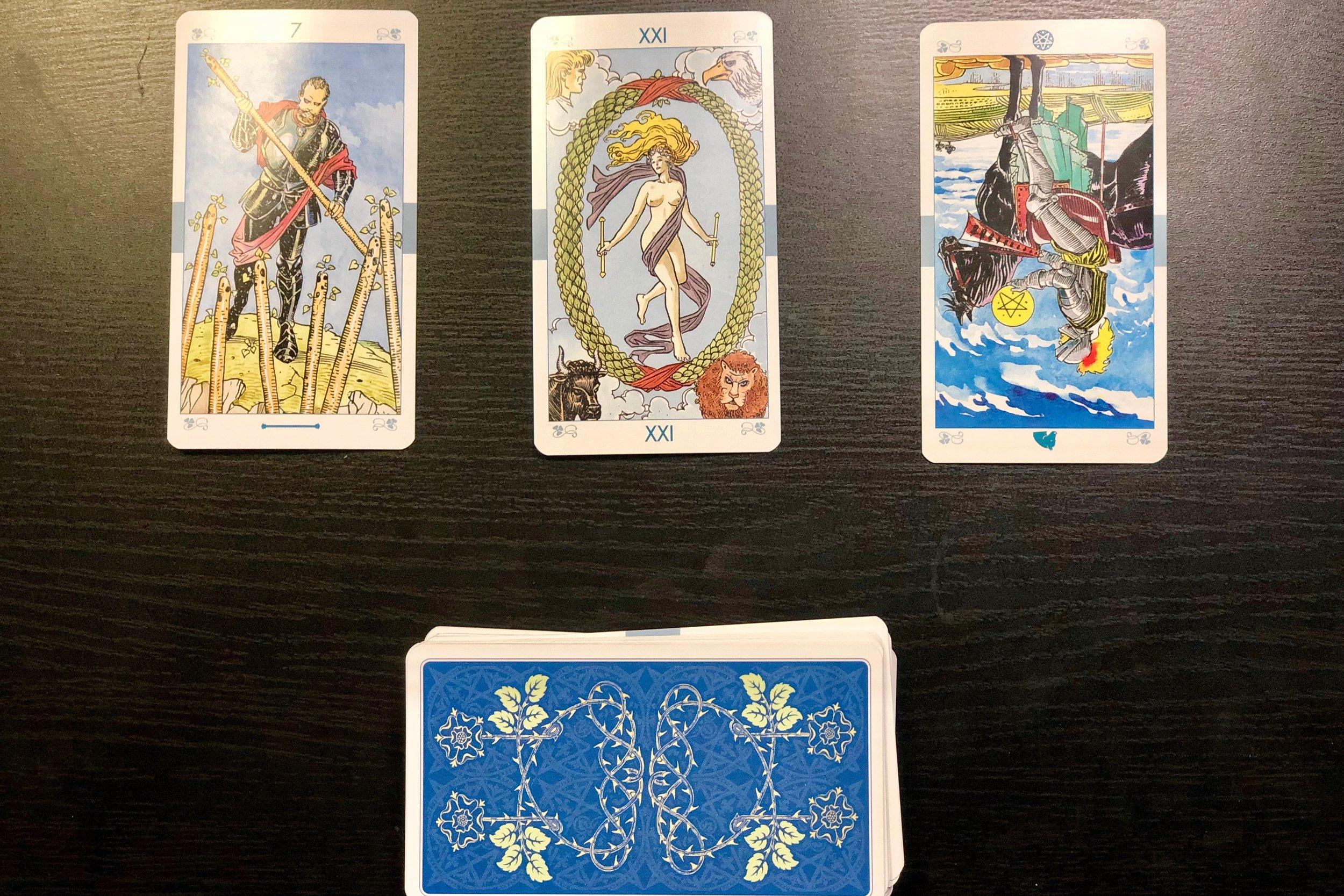 Finding Arizona Blog Tarot Card Intro