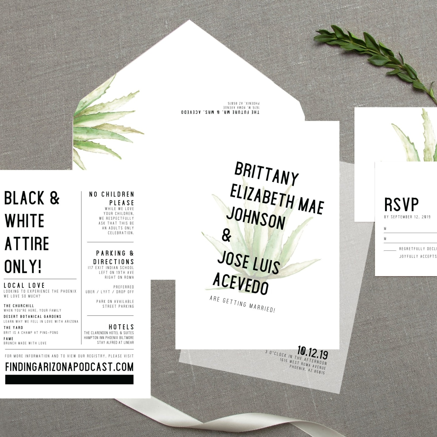 DESIGN SQUEEZE INVITATION TIME - Learn how Design Squeeze made THE invites OF OUR DREAMS come to life.
