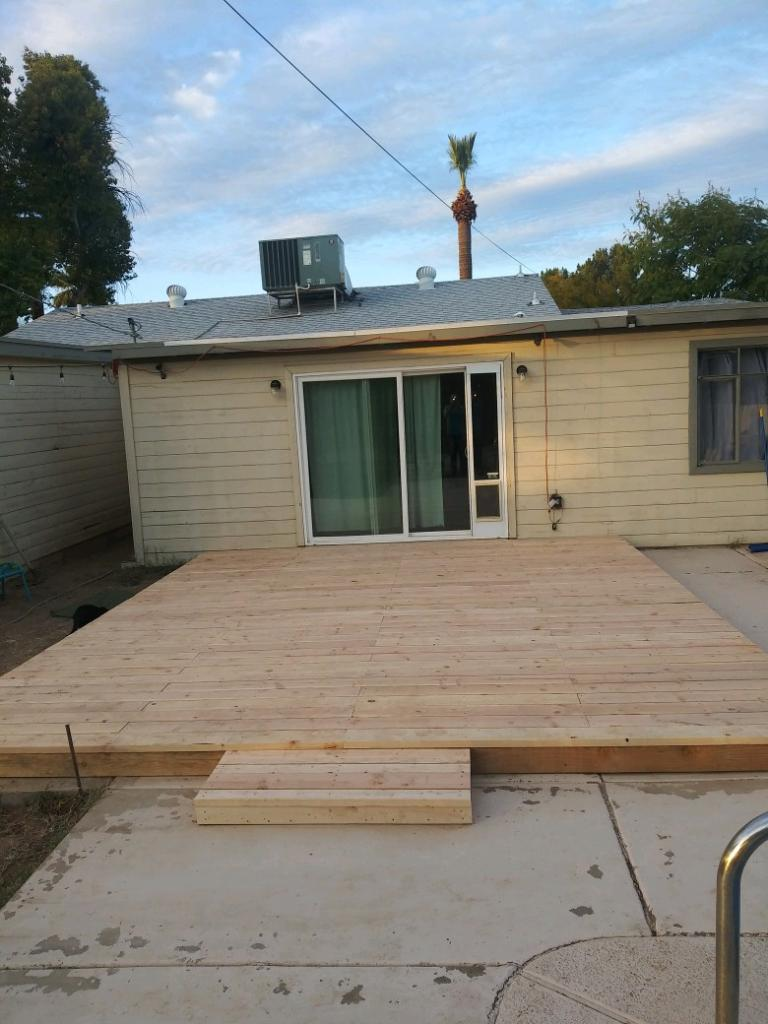 Custom Deck Home Renovations