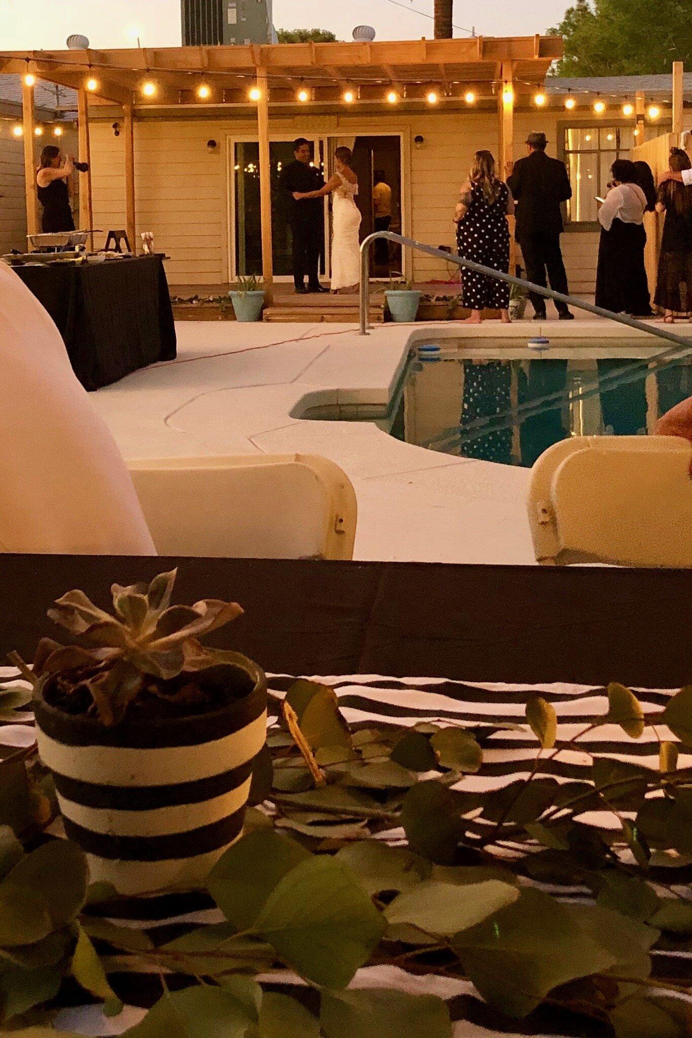 Finding AZ Wedding Reception