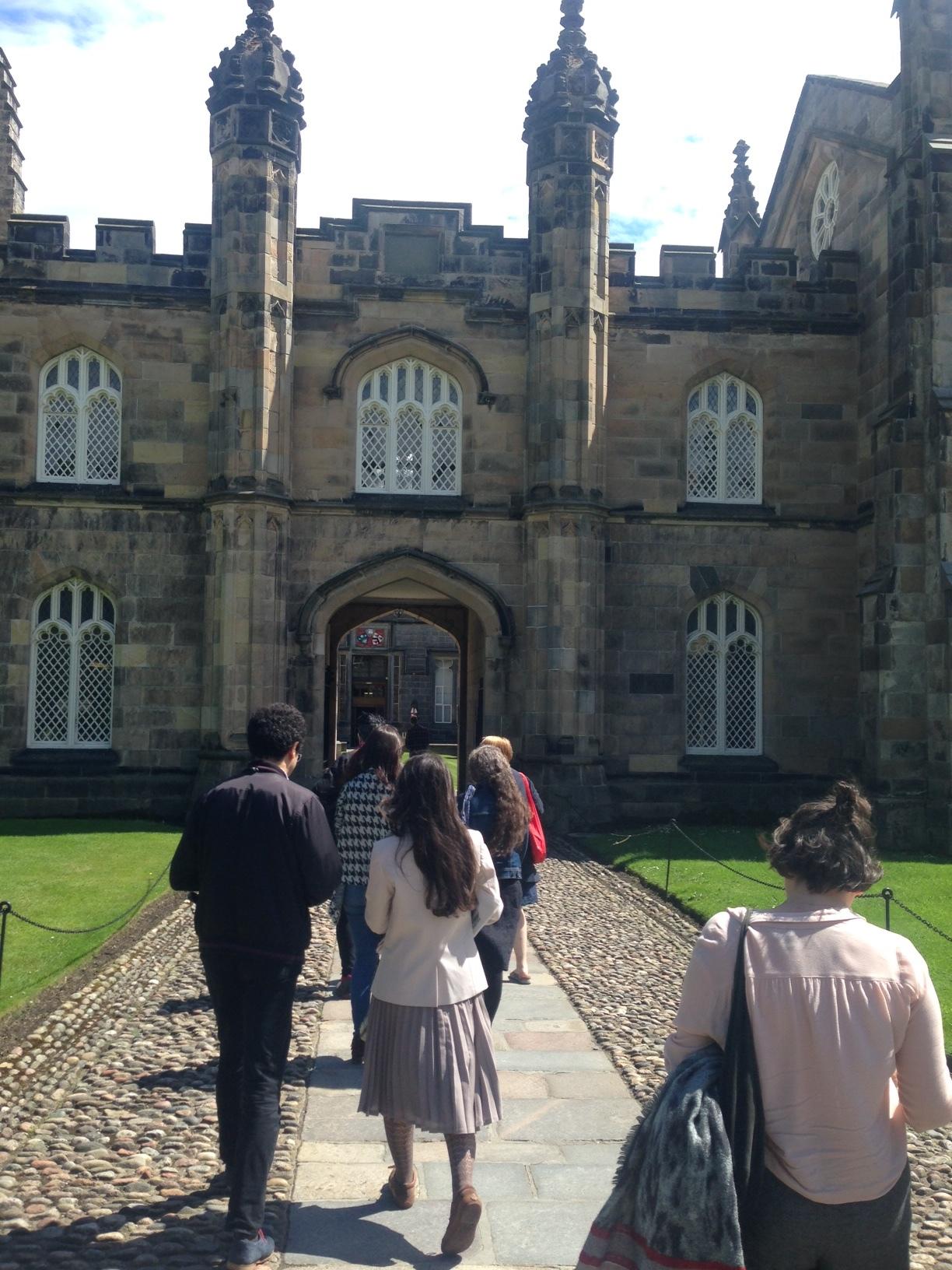 PHD students at Aberdeen University