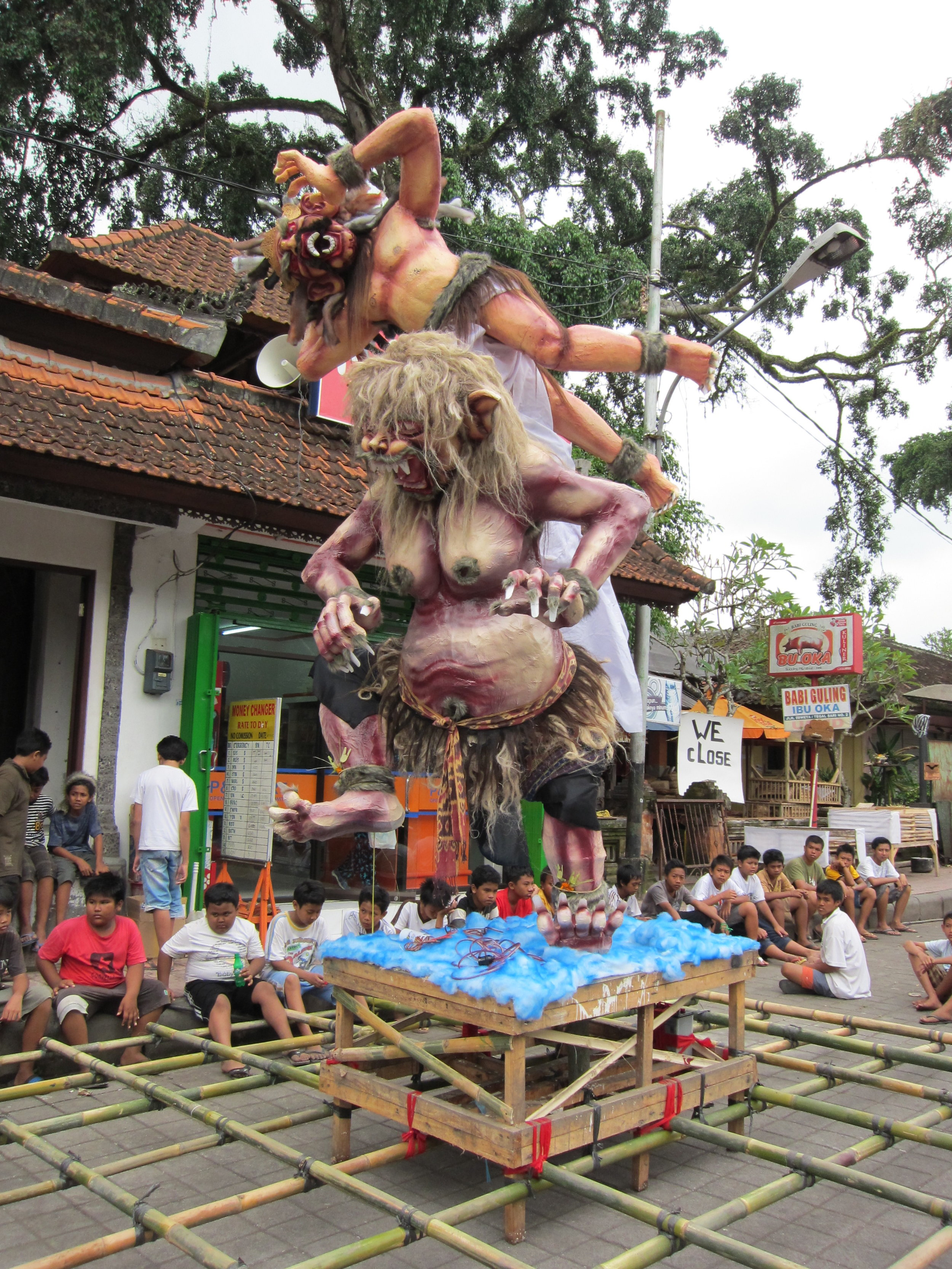 Nyepi celebrations for Balinese New Year