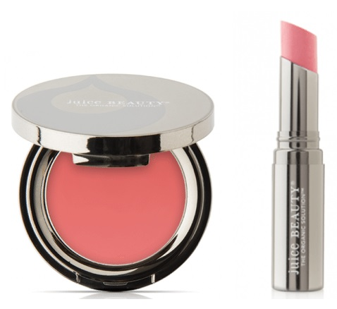 cream blush and lip cream - Juice Beauty Phyto-Pigments Last Looks Cream Blush in Seashell AND Satin Lip Cream in Blush