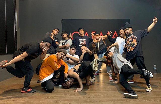thanks @khenobu & @gillerbattlecrew for dancing at our studio.