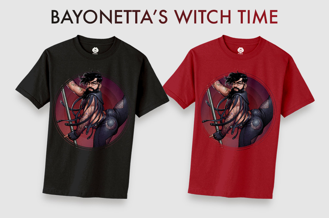 Down for anything past the witching hour, Bayonetta's Witch Time will be available in black and rich ruby red.