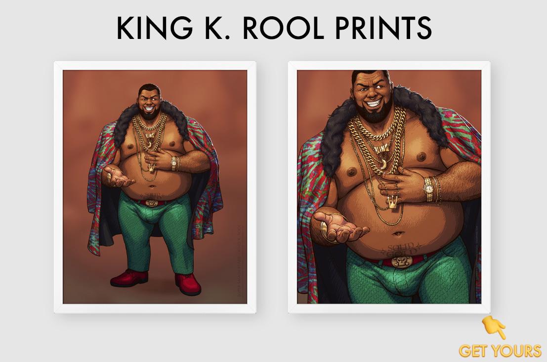 King K Rool Prints