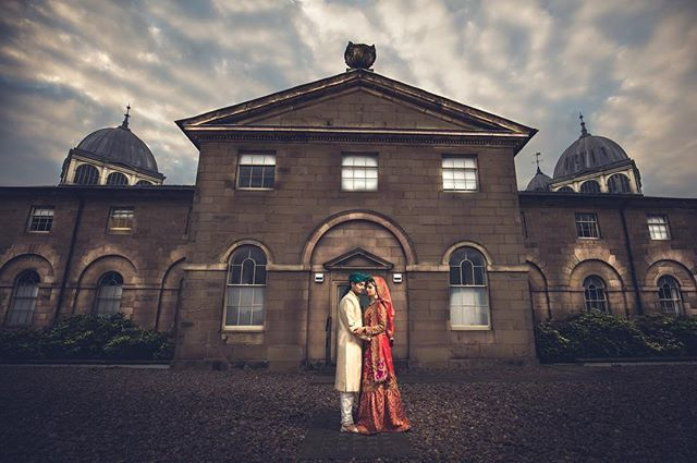 The #devonshiredome a #stunning #venue  So I decided to do a bit of #compositing the get the rite #lighting #worked a #charm and well worth that #extra #work  #bridal #bridalmakeup #bridalinspiration #groom #groomsoutfit #groomsinspiration #red #gold #orange #green #thatsky #lovemyjob #love #picoftheday #asian #wedding #weddingdress #opusultanphotography #osp #fineart