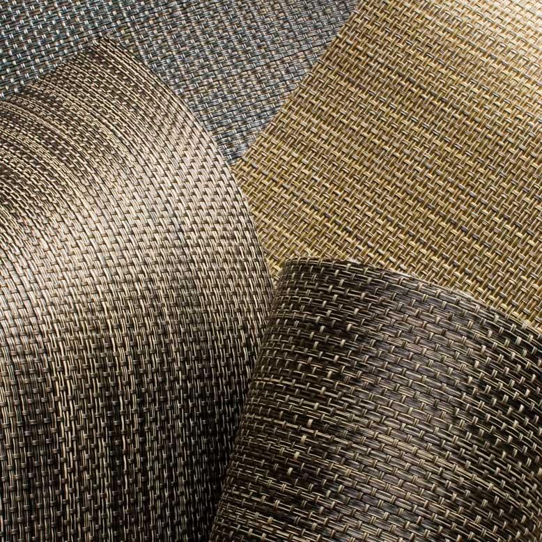 Basketweave Roller Shade Fabric