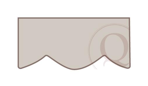 Scalloped Cornice Drawing