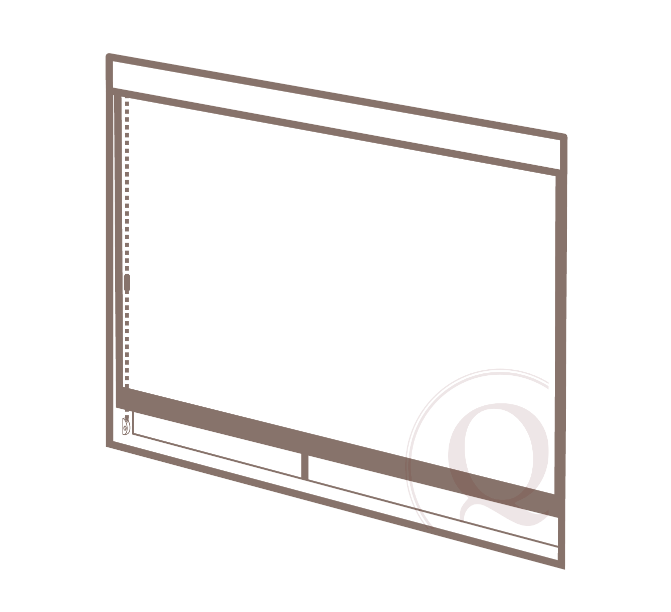 inside mount - 1. Sheetrock: tape and bed preferred2. Windows: frames and glass installed with jambs in final conditions3. Surrounding finishes that impact treatment dimensions (i.e. molding, cranks, etc.)