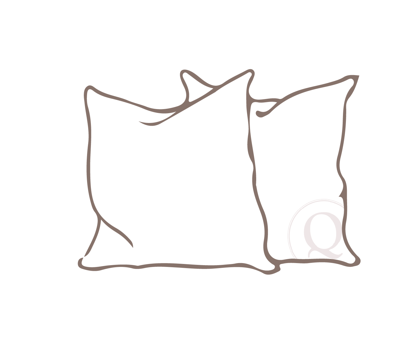 throw - Usually a smaller pillow for decorative use, these pillows can be made in various sizes and shapes. Finished with clean edges and plush inserts, when used correctly they can make a design connection between furniture and the rest of a room.
