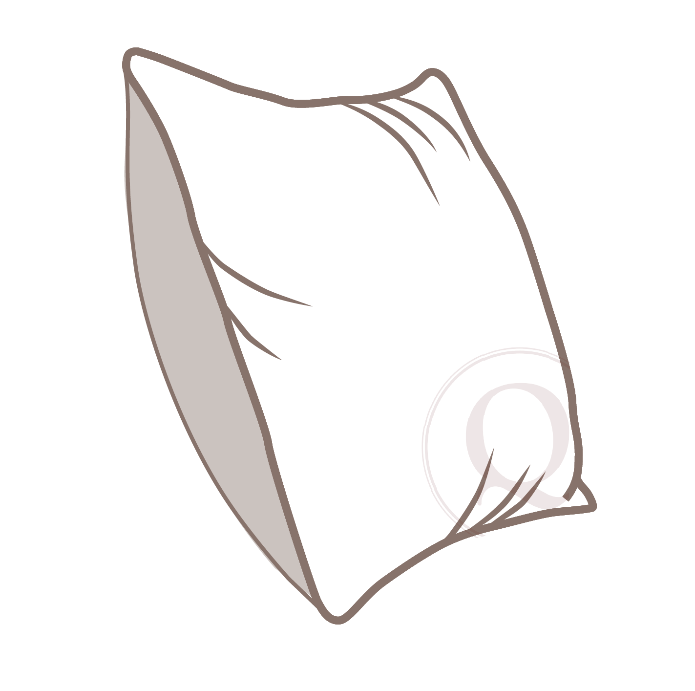 standard - This insert is made of conjugated polyester fill inside a 70% polyester, 30% cotton cover. A design optimal for high usage areas where it is important for the pillow to keep a very firm, full shape over a long life.