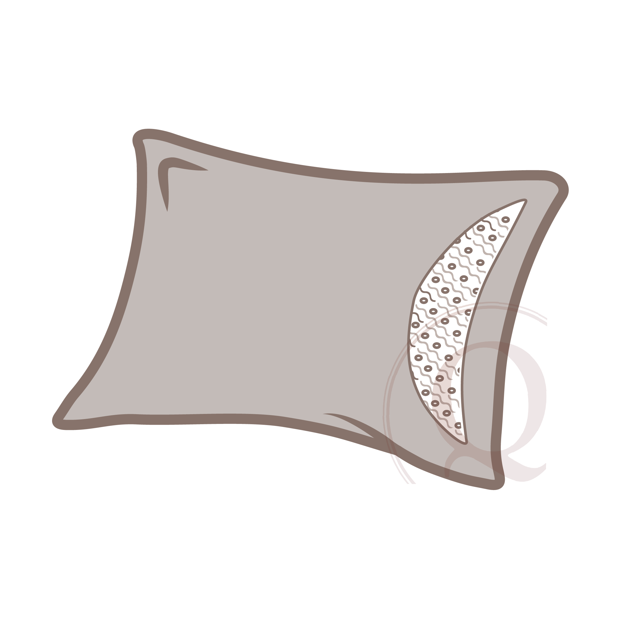 insert - Inserts are either dacron wrapped foam or a natural/synthetic fiber filling inside a fabric case. Inserts are made separately from pillow covers with the intention that they may be removed in order to clean and.or replace when needed.